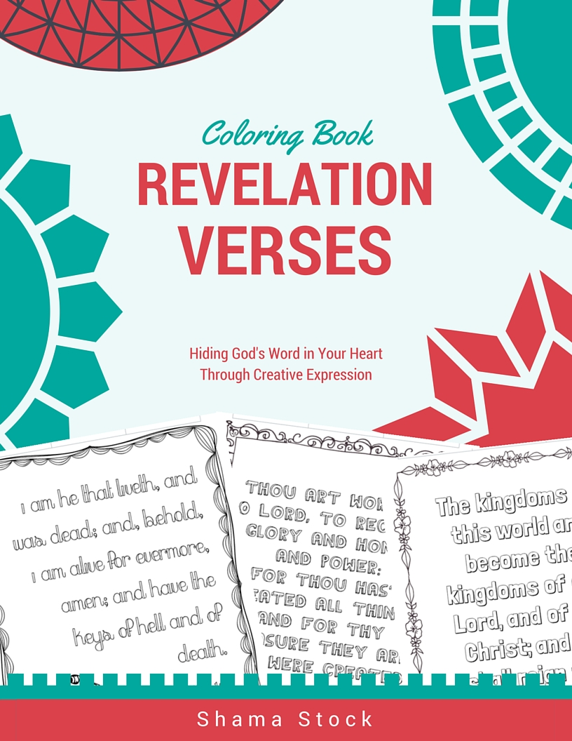 Revelation Verses Coloring Book For Kids
